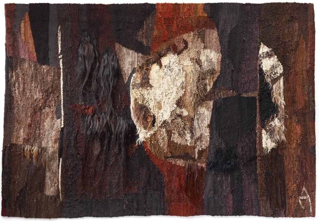 Magdalena Abakanowicz (Pologne) Andromeda II, 1964 Laine, coton, crin de cheval, 195 x 285 cm Fondation Toms Pauli, Lausanne Photo Arnaud Conne, Lausanne